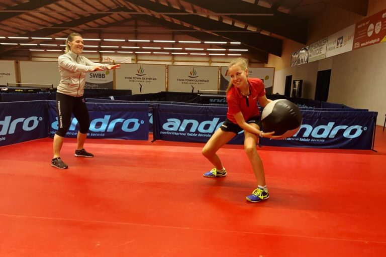 Athletiktraining mit Annett Kaufmann
