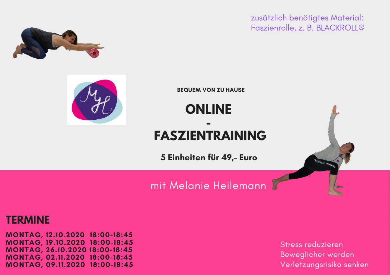 Online Faszientraining