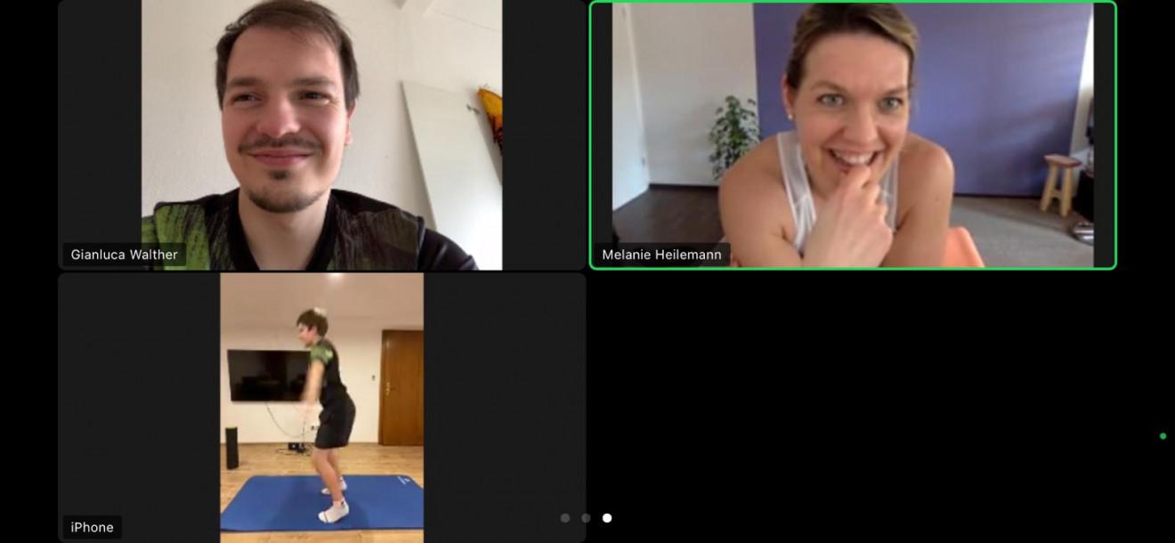 Athletiktraining mit Noah Hersel