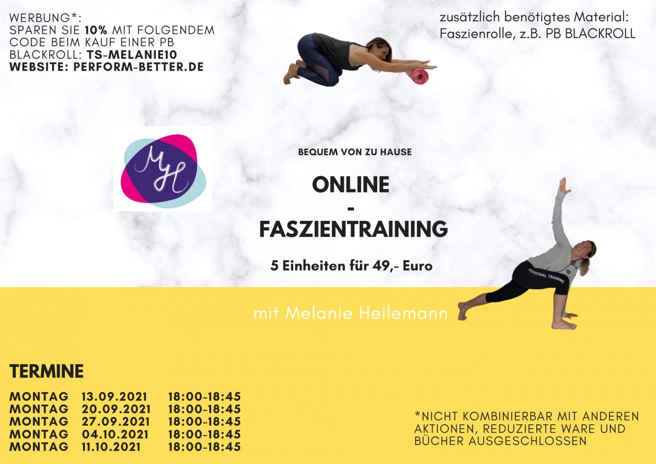 Beitragsbild Online-Faszientraining September2021